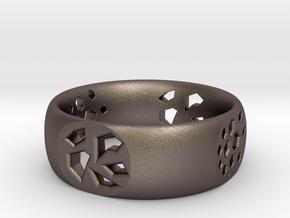 Bear Paw in Polished Bronzed Silver Steel