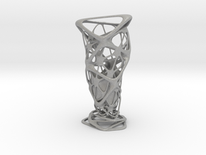"""Roots"" Phyllotaxia Vase in Aluminum"