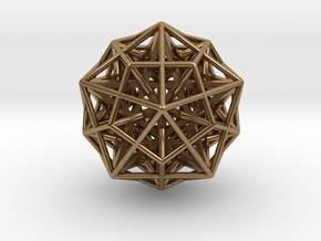 """Nested Super Star 1.4"""" in Natural Brass"""