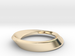 Mobius Large in 14K Yellow Gold