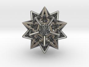Super Star in Natural Silver