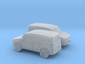 1/148  2002-07 Honda Element in Smooth Fine Detail Plastic