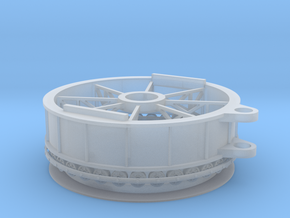 Swing Bridge Rim Bearing in Frosted Extreme Detail