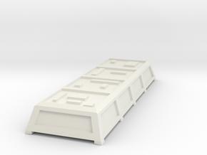 NJ Transit Arrow III Electrical Box in White Natural Versatile Plastic
