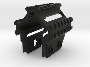 Tri Rail For SRU PDW in Black Natural Versatile Plastic