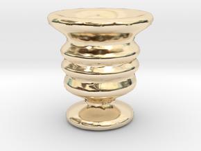 Tiny Vase in 14K Yellow Gold
