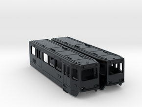HO Siemens SD160 LRV Bodies in Black Hi-Def Acrylate