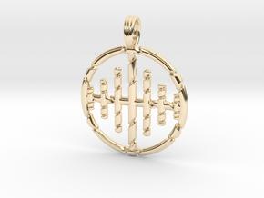 SEASONS CHANGE in 14k Gold Plated Brass