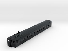 N Scale PRR Budd Silverliner MU Body Nonpowered in Black Hi-Def Acrylate