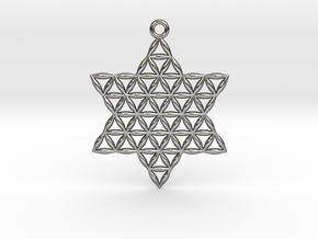 Star of Life in Polished Silver