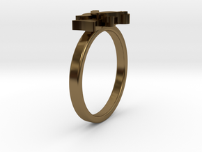 Mother-Infant Ring - Motherhood Collection in Polished Bronze: 4.5 / 47.75