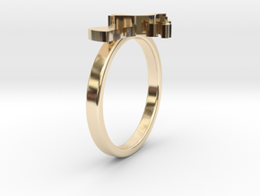 Mother-Son Ring - Motherhood Collection in 14K Yellow Gold: 4.5 / 47.75