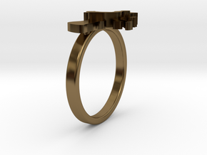 Mother-Daughter Ring - Motherhood Collection in Polished Bronze: 4.5 / 47.75