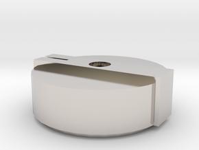 Boss MA-1 Mascot Amplifier Knob in Rhodium Plated Brass