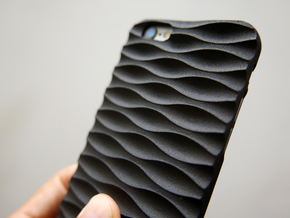 iphone 6/6s Case_Seamless in Black Strong & Flexible