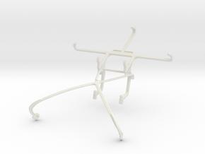 Controller mount for Shield 2015 & alcatel Flash P in White Natural Versatile Plastic