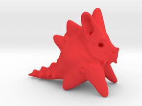 The WTF Rabbit in Red Processed Versatile Plastic
