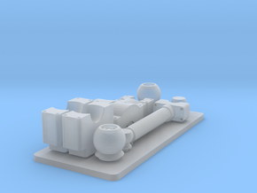 D9R Dozer Trunnion Set in Frosted Ultra Detail: 1:35