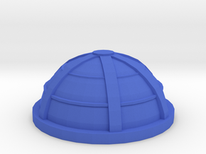 Game Piece, Habitat Dome in Blue Strong & Flexible Polished