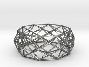 Constructionist Bracelet  in Polished Silver