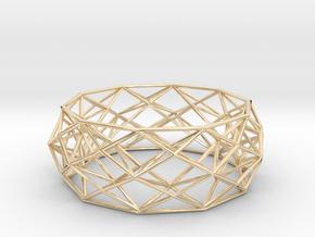Constructionist Bracelet  in 14K Yellow Gold