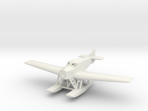 Junkers F.13 (floats) in White Natural Versatile Plastic: 1:200