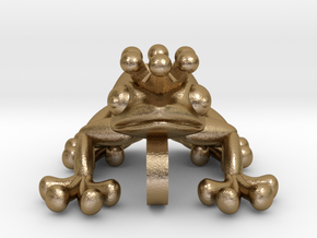 Young FROG in Polished Gold Steel