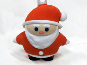 Santaclaus L (11cm) in Full Color Sandstone