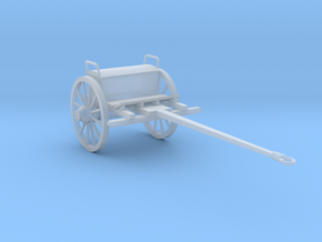 HO Cannon Limber in Smoothest Fine Detail Plastic