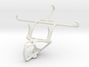 Controller mount for PS3 & HTC One M9 Prime Camera in White Natural Versatile Plastic
