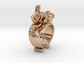 PRAY Of The Maiden15 in 14k Rose Gold Plated Brass