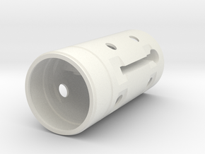 Nacelle Core V2.stl in White Strong & Flexible