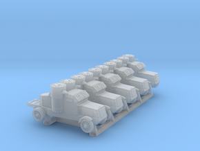 Peerless Armoured Car (6mm 5-up) in Smooth Fine Detail Plastic