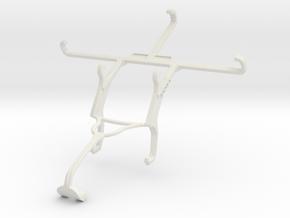 Controller mount for Xbox 360 & Lava X46 in White Natural Versatile Plastic