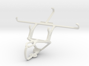 Controller mount for PS3 & Lava X50 in White Natural Versatile Plastic