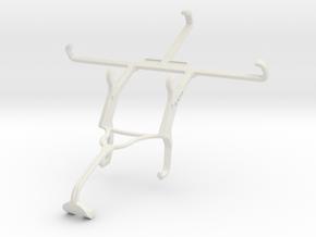 Controller mount for Xbox 360 & Lenovo Vibe C in White Natural Versatile Plastic