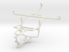 Controller mount for PS4 & Lenovo Vibe S1 Lite in White Natural Versatile Plastic