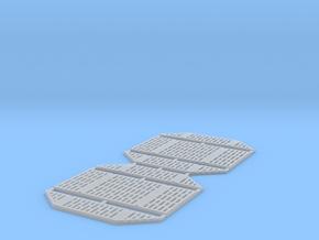 DeAgo Millennium Falcon Service Area Panels in Smooth Fine Detail Plastic