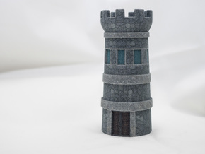 Tower in Full Color Sandstone