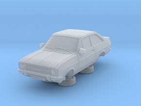 1:87 escort mk 2 2 door rs round headlights in Smooth Fine Detail Plastic