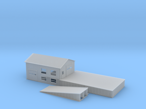 Loading Dock Z Scale in Smooth Fine Detail Plastic