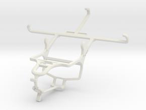 Controller mount for PS4 & Meizu m1 metal in White Natural Versatile Plastic