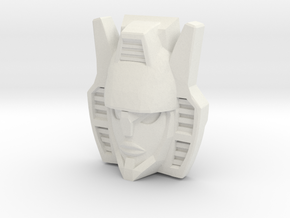 "R63 - ""Menace"" Face (Titans Return) in White Strong & Flexible"