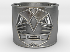 3 Fearless Warriors ring size 6 (M) in Natural Silver