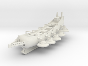 Flying Galleon (Production Version) in White Natural Versatile Plastic: 1:700