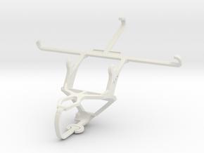 Controller mount for PS3 & Motorola Moto Z Force in White Natural Versatile Plastic