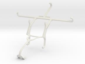Controller mount for Xbox 360 & Panasonic Eluga Ic in White Natural Versatile Plastic