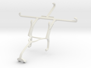 Controller mount for Xbox 360 & Panasonic Eluga L  in White Natural Versatile Plastic