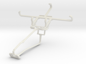 Controller mount for Xbox One Chat & Plum Axe LTE in White Natural Versatile Plastic