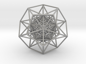 Super Dodecahedron in Aluminum